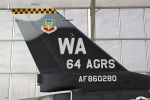 The 64th Aggressor Squadron is know as the 64 AGRS with a WA tail code.